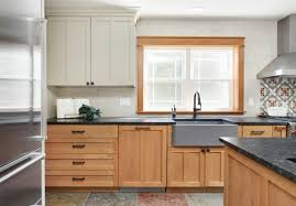 oak kitchen cabinets and granite countertops 75 beautiful kitchen with medium tone wood cabinets and