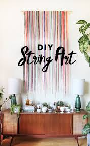 Livingroom Wall Art Best 25 String Wall Art Ideas On Pinterest Diy String Art