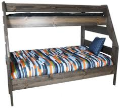 Trend Wood Bayview Rustic Gray TwinFull Bunk Bed Homemakers - Trendwood bunk beds