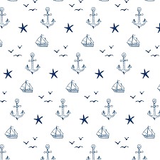 Wallpaper Removable Handdrawn Nautical Removable Wallpaper Tile Wallums Wallpaper