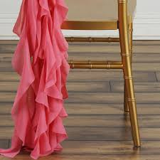 curly willow chair sash chiffon quartz curly willow chair sashes 100 polyester