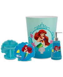 Disney Bathroom Accessories by Product Details The Little Mermaid Bathroom Accessories Tsc