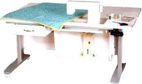 fold away sewing machine table collapsible sewing table marvellous folding craft table with storage