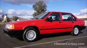 volvo sedan volvo 940 turbo sedan se classic car 960 760 740 test drive review
