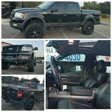 lifted black ford f150 2004 ford f150 fx4 4x4 lifted black on black in black call us