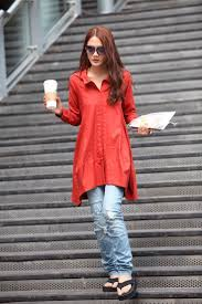 how to style jeans with long shirt outfit4girls com