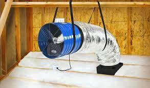 gable attic fan installation northridge quiet cool fan installation whole house fan man