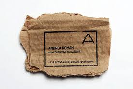 Recycle Paper Business Cards Brilliant Eco Business Card Can Be Printed On Practically Anything