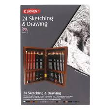 derwent professional quality drawing sketching pencils