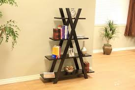 Plans For Bookcase Furniture How To Decorate A Ladder Bookcase Shelf Plans For