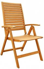 5 Position Floor Chair Outdoor Wood Folding Arm Chair Foter