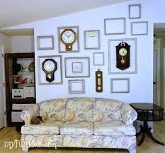 low cost home decor 11 clock frame gallery wall hometalk