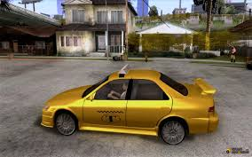 yellow toyota camry toyota camry taxi for gta san andreas