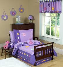 Jojo Design Bedding Purple Daisies Toddler Comforter Bedding 5pc Bed In A Bag Set