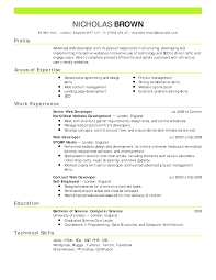 cover letter example of professional resume example of
