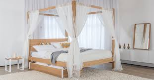 Poster Bed Frame Top Four Poster Bed Frame Pertaining To Home Designs