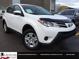 lexus nx and toyota rav4 used white 2014 toyota rav4 awd le review sylvan lake alberta