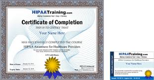 hipaa training and certification for mental health