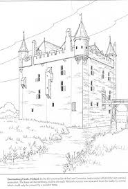 irish castle coloring page 48 best castles images on pinterest castles castle drawing and