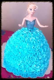 frozen elsa cake made with wilton barbie cake pan ruby u0027s parties
