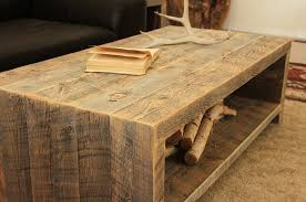 Reclaimed Wood Coffee Table Design And Ideas NewCoffeeTablecom - Wood coffee table design