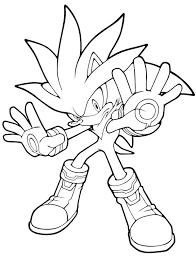 Sonic 126 Jeux Vidéos  Coloriages à imprimer