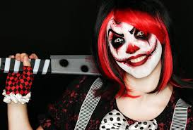 Creepy Makeup Halloween Killer Clown Makeup Tutorial Easy Scary Clown 31 Days Of