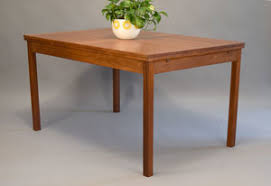 table with slide out leaves danish teak dining table by ansager mobler with pull out leaves