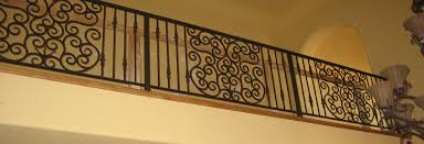 ornamental iron railings sacramento stair railings