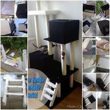 Free Diy Cat Tree Plans by 16 Best Diy Kitty Tower Projects Images On Pinterest Cat Condo