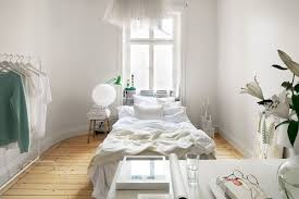 Small One Room Apartments Featuring A Scandinavian Décor - Design for one bedroom apartment