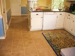 kitchen floor fruit design rug wall mounted hood white cabinet