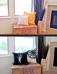halloween wall covers skeleton hand pillow the smithocracy