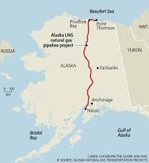 Gulf Of Alaska Map Alaska Lng Natural Pipeline Project The Globe And Mail
