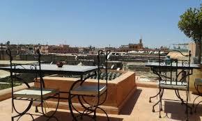 A Place Vue Terrasse Vue Sur La Place Jemaa El Fna Picture Of Riad Dar Yammi