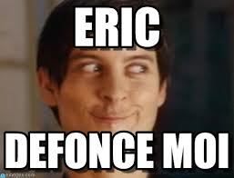 Eric Meme - eric spiderman peter parker meme on memegen