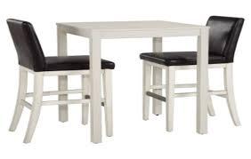 White Pub Table Set - bistro table set kitchen kitchen pub table sets counter high