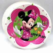 minnie mouse party supplies 10pcs bag minnie mouse party supplies paper plate cake dishes kids