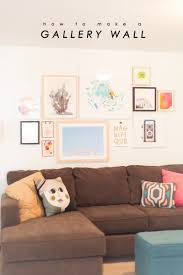 How To Design A Gallery Wall by How To Create A Gallery Wall Lovely Indeed