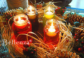 Floating Candle Centerpiece Ideas A Fall Inspired Candle Centerpiece Handmade And Heartwarming