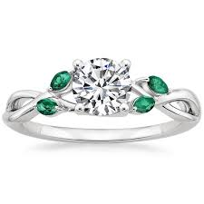 birthstone engagement rings may birthstone brilliant earth