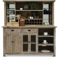 distressed bar and 2 swivel barstools mountain smoke rc willey
