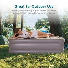 air mattress with built in electric pump sable full sized