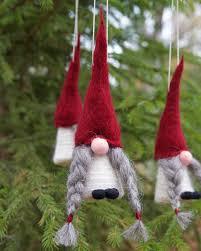 swedish tomte ornaments jultomte nisse swedish boże