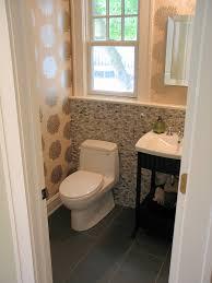 Modern Guest Bathroom Ideas by Interior Modern Half Bathroom Ideas Pertaining To Breathtaking