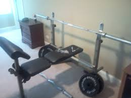 weight and bench set hodoval s garage 10 lb weights and bench