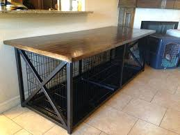 diy dog grooming table dog crate table top diy grooming cage nwneuro info