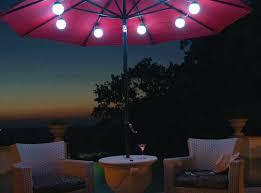 solar umbrella clip lights solar string lights for umbrella clip on set of 2 transitional
