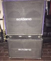 Soldano 2x12 Cabinet Soldano Slo 2x12 Combo 100 W Con 2x12 Extensión Cab Ebay