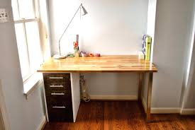 Wall Desk Ikea by Room Divider Fish Tank Custom Beech And Maple Desk Ikea Hackers